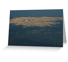 Serra da Estrela  (Star Montain)         Portugal Greeting Card