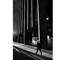 City Rush Photographic Print