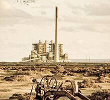 Port Augusta - South Australia by Stephen Permezel