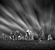 Pinnacles Desert Nightscape, Western Australia by Mark Boyle