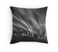 Pinnacles Desert Nightscape, Western Australia Throw Pillow