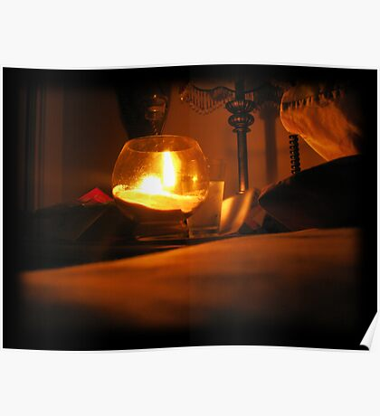 Bedside Candle Poster
