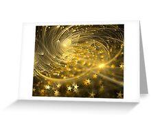 Yellow Halo Greeting Card