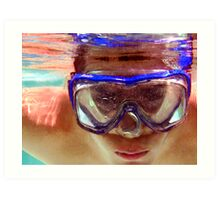 Underwater  Fun Art Print