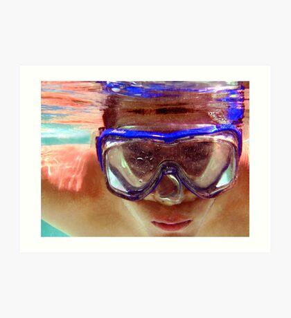 Underwater  Fun Art Print