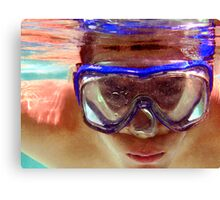 Underwater  Fun Canvas Print