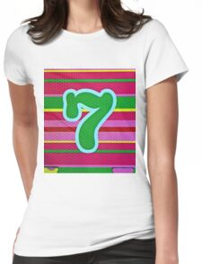 7 Womens Fitted T-Shirt