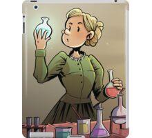 Marie Curie Comic Cover iPad Case/Skin