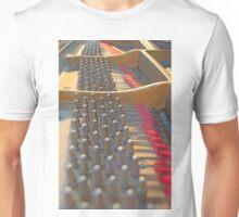 Piano Pegs Unisex T-Shirt
