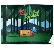 Henry the Box at the Forest Poster