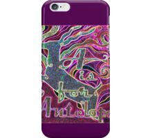 A is for Antelope - Design 3 iPhone Case/Skin