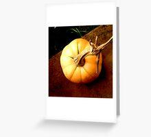 Brooding Butternut Greeting Card