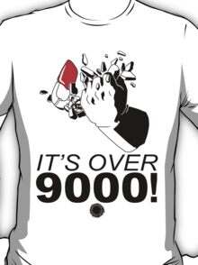 Vegeta - It's Over 9000! - Black T-Shirt