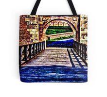 Kalemegdan Fortress Gate Belgrade Fine Art Print Tote Bag