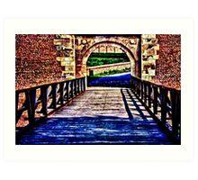 Kalemegdan Fortress Gate Belgrade Fine Art Print Art Print