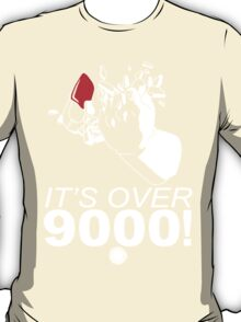 Vegeta - It's Over 9000! - White T-Shirt