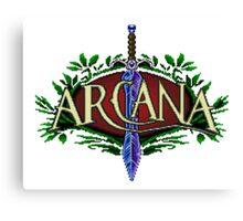 Arcana Canvas Print