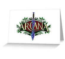 Arcana Greeting Card