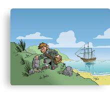 Darwin Design 2 Canvas Print