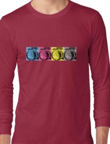 CMYK Camera T-Shirt Long Sleeve T-Shirt