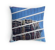 Reflections - New construction Throw Pillow