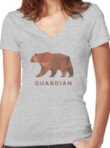 WoW Brand - Guardian Druid Women's Fitted V-Neck T-Shirt