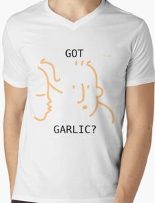 Got Garlic? Mens V-Neck T-Shirt