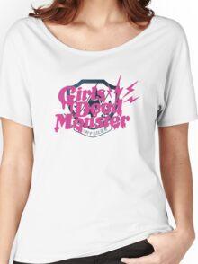 Angel Beats! Girls Dead Monster Women's Relaxed Fit T-Shirt