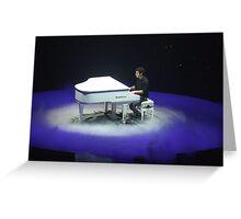Nick Jonas Greeting Card