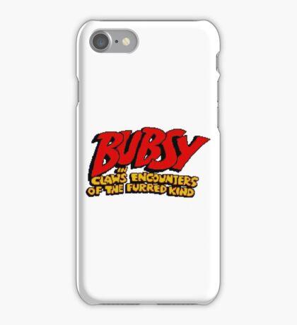 Bubsy - SNES Title Screen iPhone Case/Skin