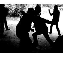 Games people play Photographic Print