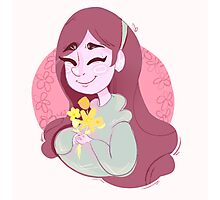 [sev'ral timez voice] flower girl Photographic Print