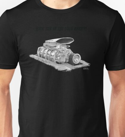 Mad Max Interceptor Supercharger Unisex T-Shirt