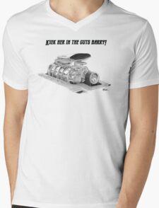 Mad Max Interceptor Supercharger Mens V-Neck T-Shirt
