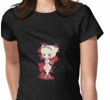 Evil Neko Lolita Womens Fitted T-Shirt