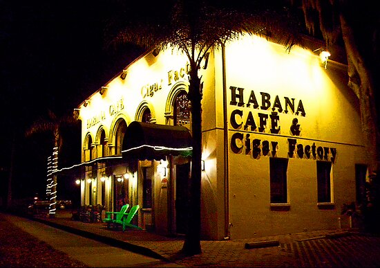 Habana Cafe & Cigar Factory by Ginny Schmidt