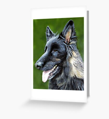 'Ben' (Private commision) Greeting Card