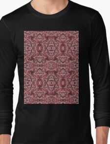 Rope Patterns 4 Long Sleeve T-Shirt