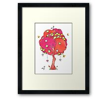 Let's Patch Things Up Framed Print