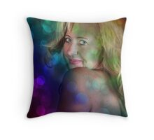 The Nightlife Throw Pillow
