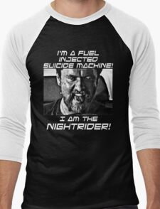 Nightrider Men's Baseball ¾ T-Shirt