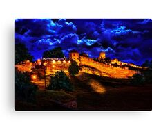 Mystical Fortress Kalemegdan Belgrade Canvas Print