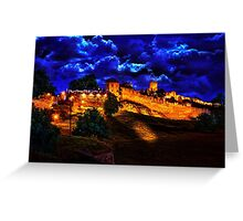Mystical Fortress Kalemegdan Belgrade Greeting Card