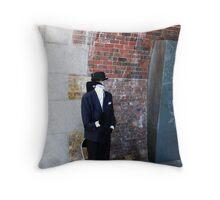invisible man Throw Pillow