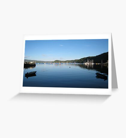 Tobermory Harbour Mull Greeting Card