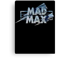 Mad Max film title Canvas Print