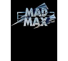 Mad Max film title Photographic Print