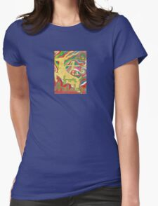 A is for Antelope  Design 1 Womens Fitted T-Shirt