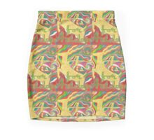 A is for Antelope  Design 1 Mini Skirt