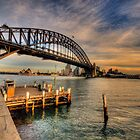 Point Perspective - Milsons Point, Sydney - The HDR Experience by Philip Johnson